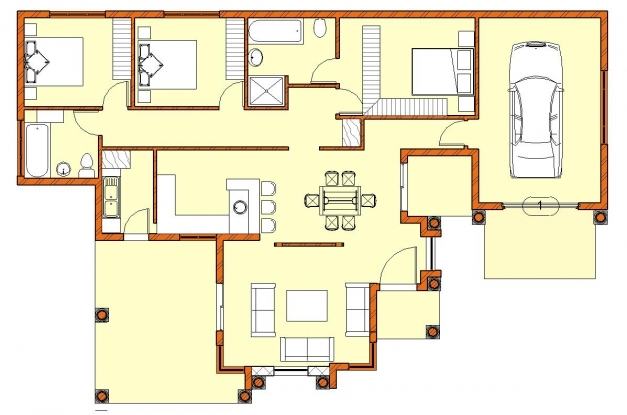 Wonderful Excellent Where Can I Get A Copy Of My House Plans Contemporary House Plan Mlb 2017 Image