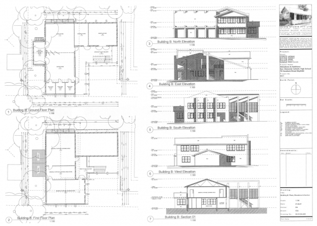 Delightful 2d Elevation And Floor Plan Of 2633 Kerala Home Home Plan Plan Elevation Section Of Bungalow Picture