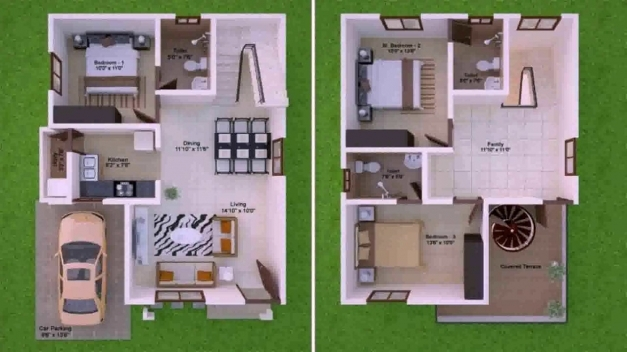 Fantastic Latest House Plan Design 15 50 Youtube 15 By 50 Home Design Photos