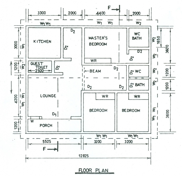 Fantastic Technical Drawing Paper 3 Novdec 2014 Plan Elevation Section Of Bungalow Photo
