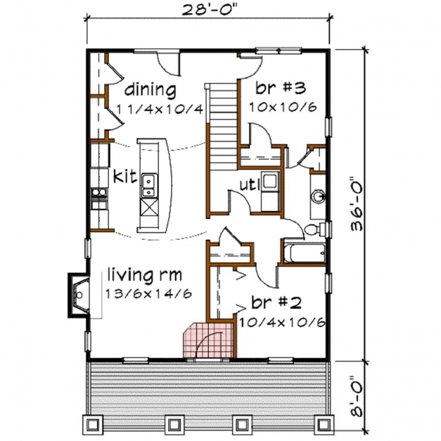Gorgeous Awesome Floor Plan Elevation Bungalow House Homes Zone Pic House Plan Elevation Section Of Bungalow Pic