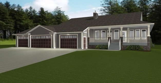 Gorgeous Best Ranch House Plans With 3 Car Garage Ranch House Design Cheap 3 Car Garage Ranch House Plans Photo
