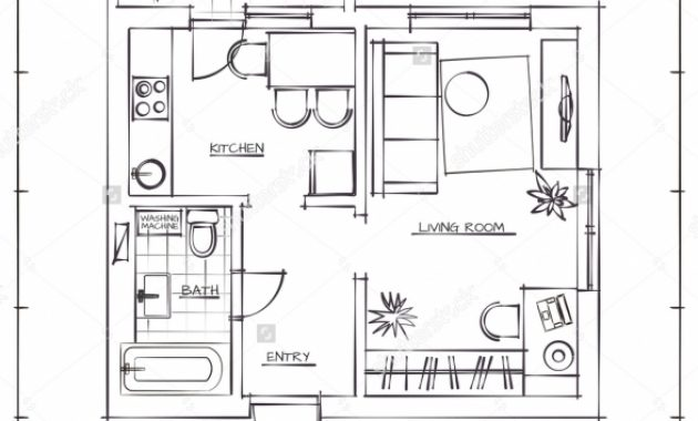 Gorgeous How To Draw A Floor Plan Hand Ahscgs How To Draw A Floor Plan By Hand Pictures