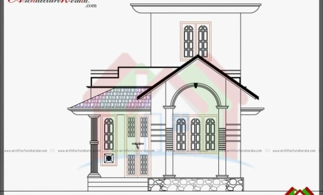 Gorgeous Mesmerizing 750 Sq Ft House Plan And Elevation Architecture Kerala 750 Sft Building Elevation Images Com Images