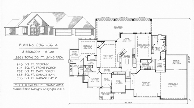 Incredible Fresh Image Ranch House Plans With 3 Car Garage Home Inspiration 3 Car Garage Ranch House Plans Photos