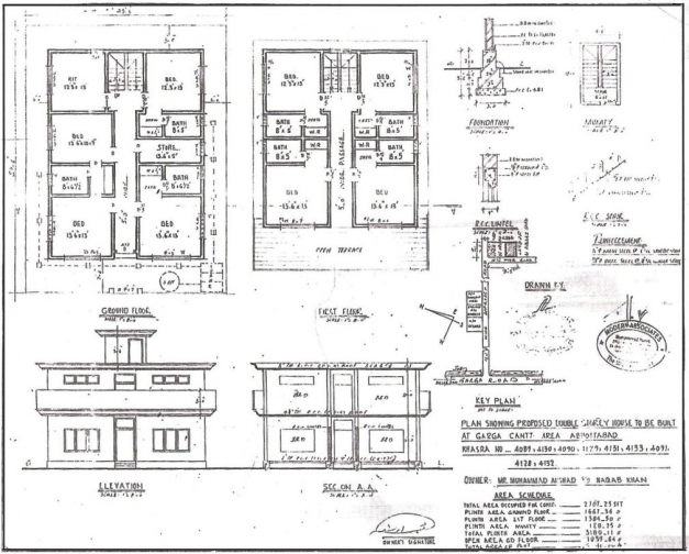 Marvelous Great Awesome G1 Bungalow Plansection Elevation Ideas Ideas Plan Elevation Section Of Bungalow Pictures
