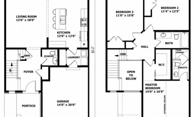 Stylish High Quality Simple 2 Story House Plans 3 Two Story House Floor Floor Plan 2 Storey Picture
