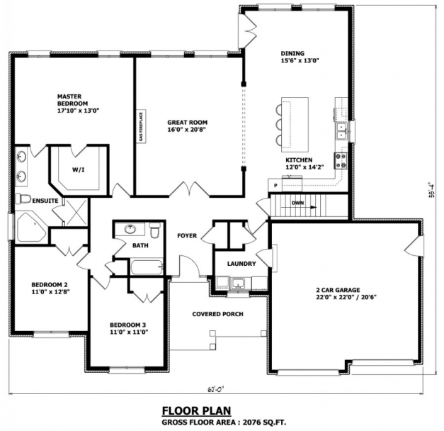 Stylish House Plans Canada Stock Custom Plan Elevation Section Of Bungalow Pictures
