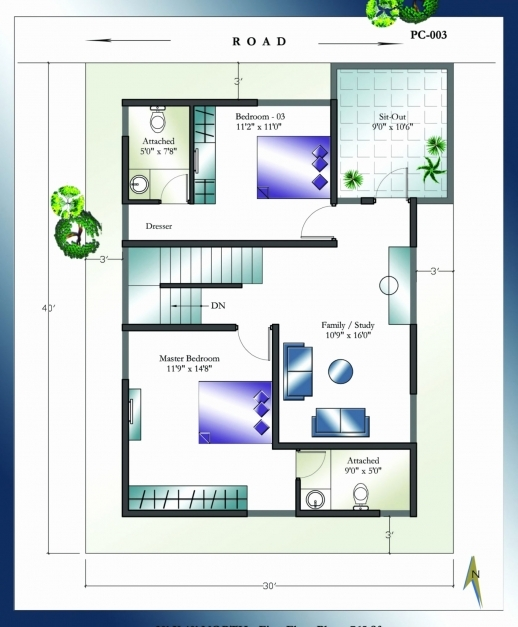 Wonderful 30x40 House Plans Awesome North Facing House Plans Fascinatingstu 30*40 House Plan North Facing Pics