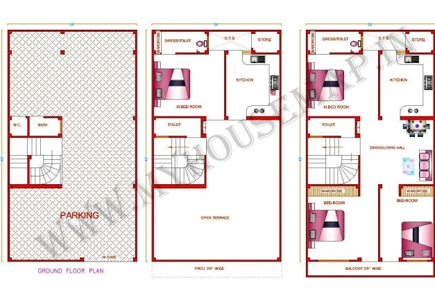 Delightful Uncategorized Home Map Design Within Amazing Nice House Map 15 X 15×50 Home Design Picture