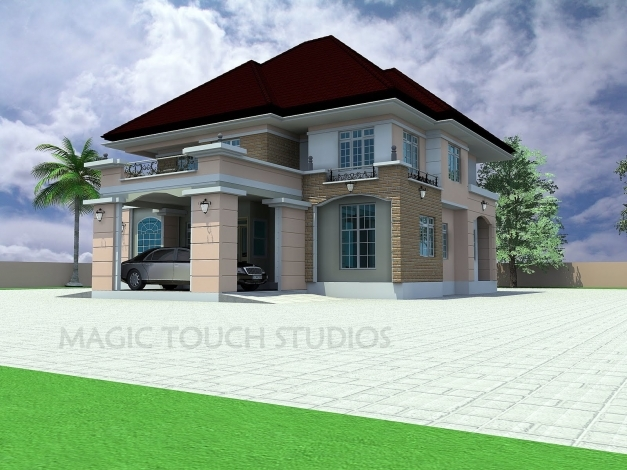 Marvelous Bedroom House Plans In Nigeria Nigerian Pictures A Plan Of Five Nigeria Homes 2017 Photo
