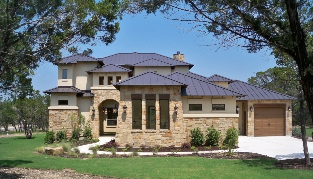 Best Hill Country Style Tumbled Stone Exteriors Hill Country Luxury Country Style Home Builders Images