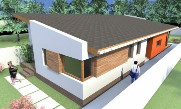 Incredible One Story House Plans Modern House Plans With 1 Story Building One Story Modern House Plans Pictures