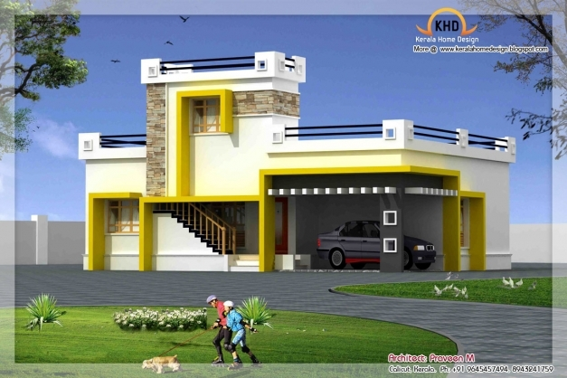 Amazing Single Floor House Elevation 1500 Sq Ft Single Floor House Images Pictures