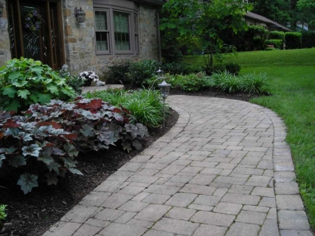 Delightful Enchanting Sidewalk Landscaping Ideas Collection With San Francisco Landscaping Walkway Ideas Image