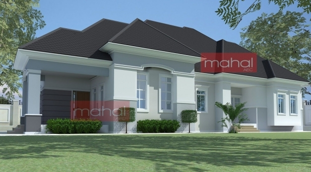 Gorgeous 4 Bedroom Bungalow Plan In Nigeria 4 Bedroom Bungalow House Plans Contemporary Architecture In Nigeria Pics