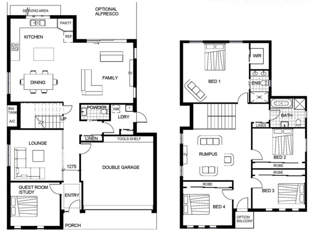 Marvelous Floor Plan Samples For 2 Storey House House Plan Ideas Floor Plan Samples For 2 Storey House Picture