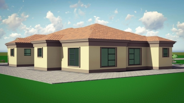 Marvelous 35724 Three Bedroom Tuscan House Plans Luxury Free Tuscan House Free South African House Plans With Photos Photo