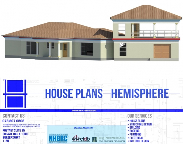 Awesome Double Storey House Plans In Limpopo Polokwane Lebowakgomo Polokwane House Plans Picture