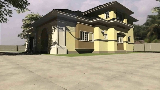 Incredible 6 Bedroom Bungalow House Plans In Nigeria Youtube 6 Bedroom Bungalow House Plans In Nigeria Pics