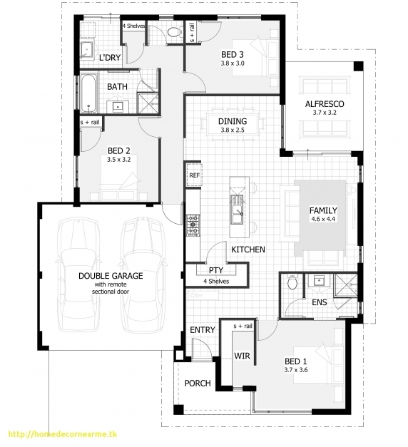 Stunning Three Bedroom House Plans With Photos Emiliesbeauty 3 Bedroom House Plan Picture
