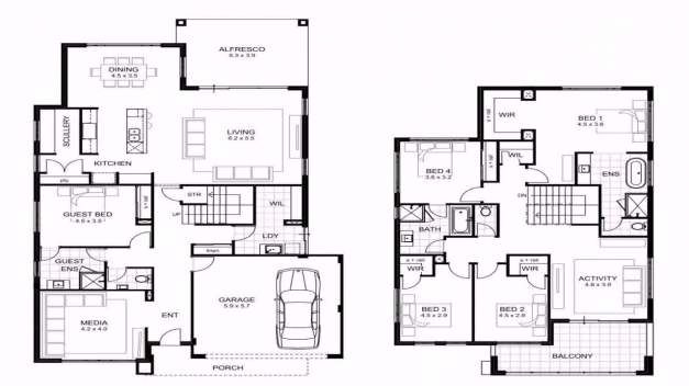Stylish 4 Bedroom House Plans In Limpopo Youtube Limpopo House Plans Pics