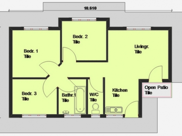 Marvelous Simple 3 Bedroom House Plans And Designs Three Bedroom House Plans Simple 3 Bedroom House Plans Images