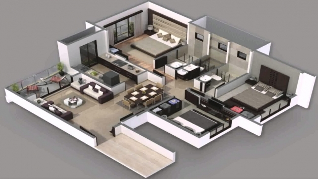 Fascinating 4 Bedroom Modern House Plans South Africa Youtube 4 Bedroom Modern House Plans Images