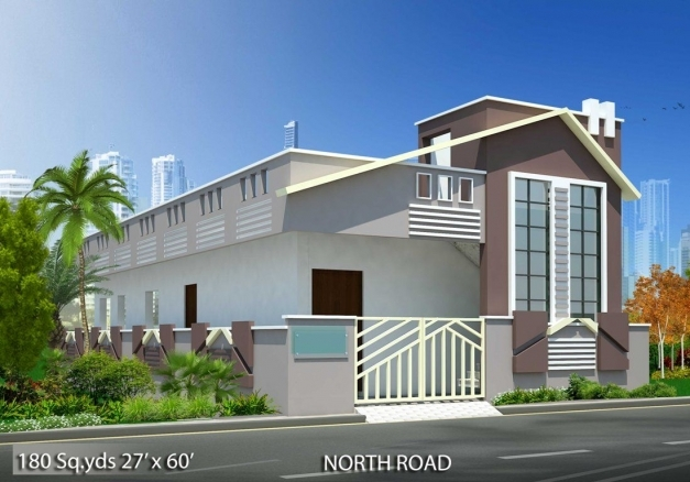 Incredible 180 Sqyds27x60 Sqft North Face House 2bhk Elevation Viewfor More North Facing House Plans Elevation Pictures