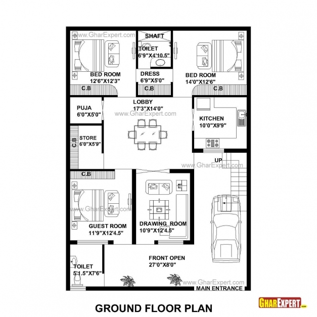 Inspiring 28 Foot Wide House Plans Awesome 30 Ft Wide House Plans Cozy Design 28*60 House Plan Pic